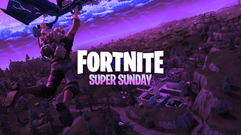 Announcing Fortnite Super Sunday! Weekly cash prizes up for grabs!